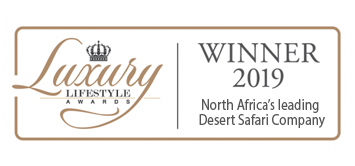 WORLD TRAVEL AWARDS WINNER 2019 North Africa's leading Desert Safari Company